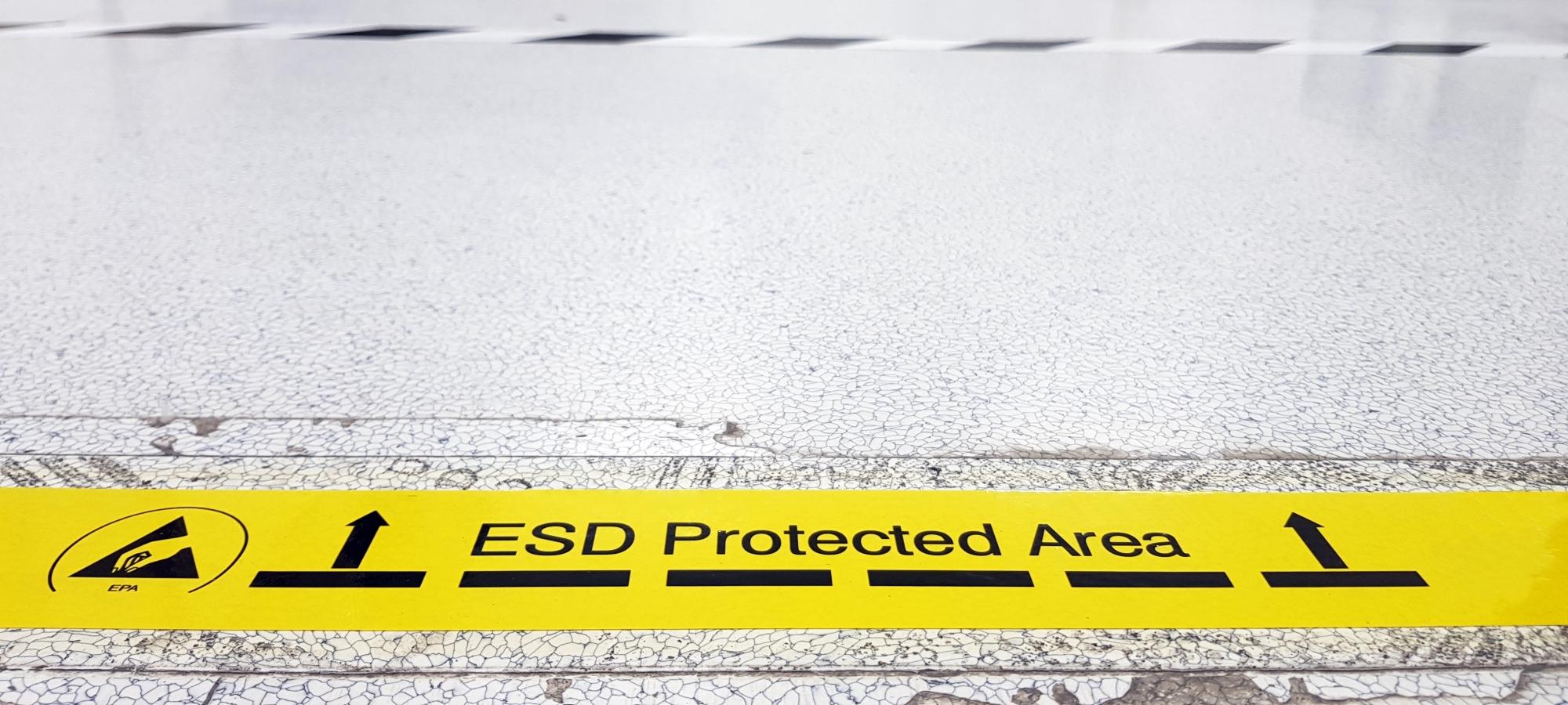 Elektroindustrie-ESD – sicher und wichtig