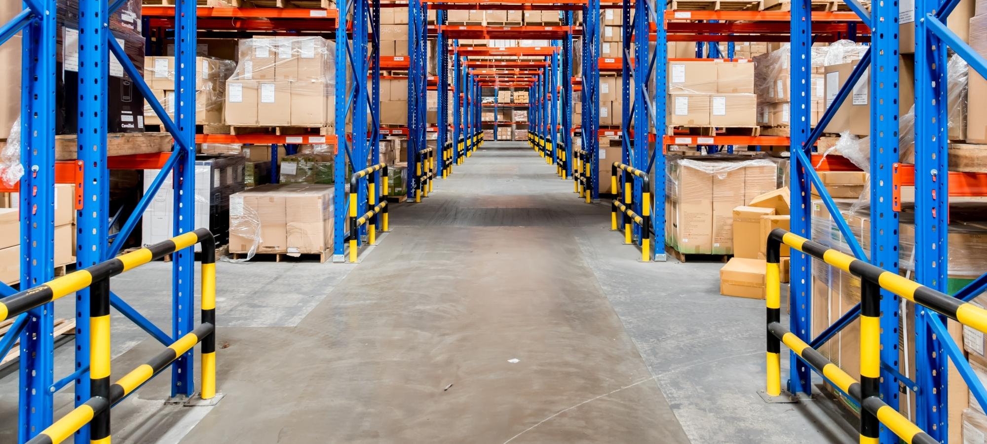 Logistik-Lagerflächen – sicher und schnell