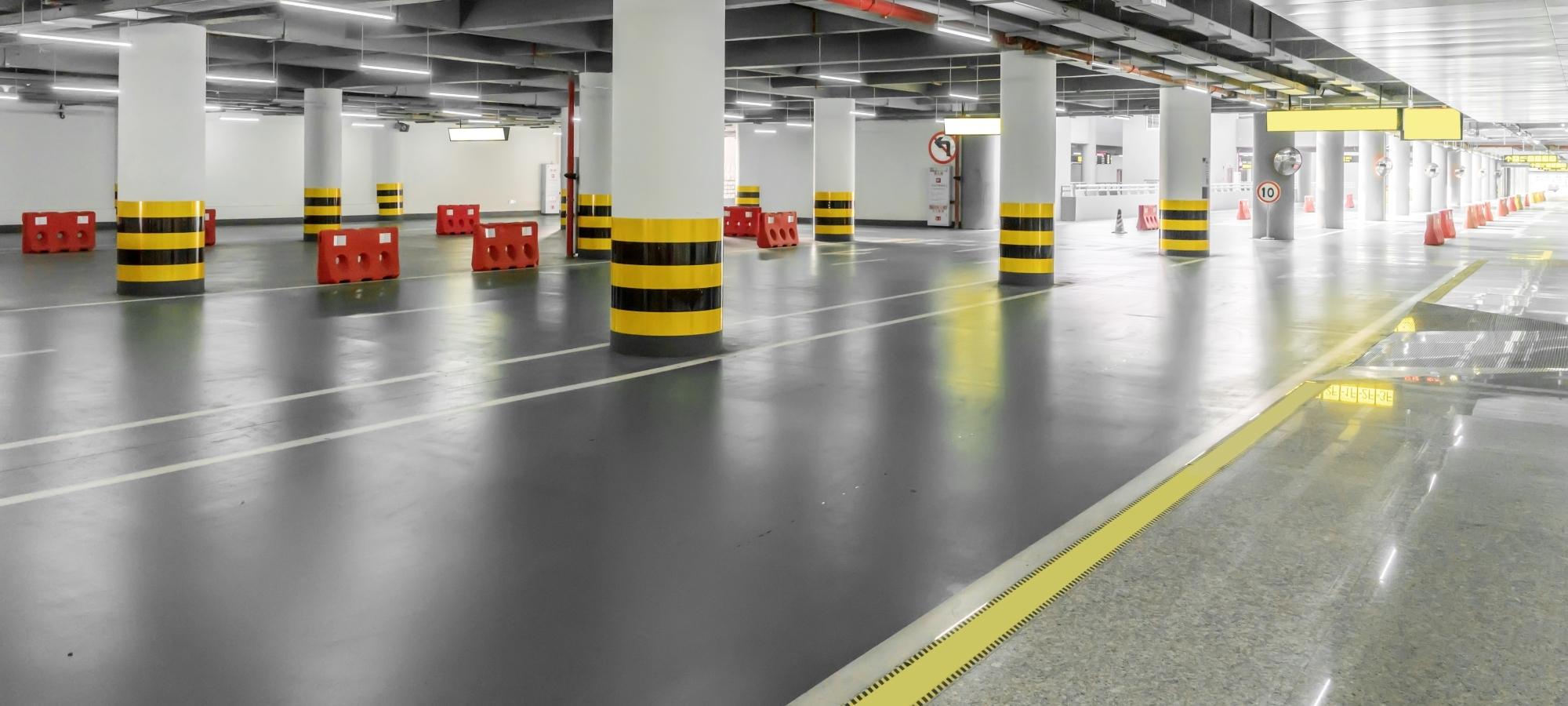 Parkflächen-Verkehrsflächen – sicher und flexibel